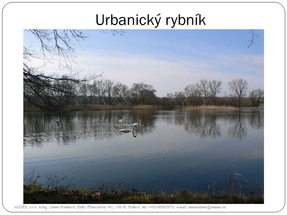 Urbanický rybník ALINEX, s.r.o. & Ing.