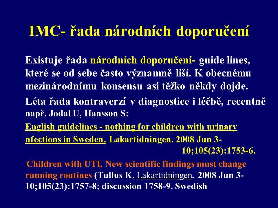 IMC- řada národních doporučení