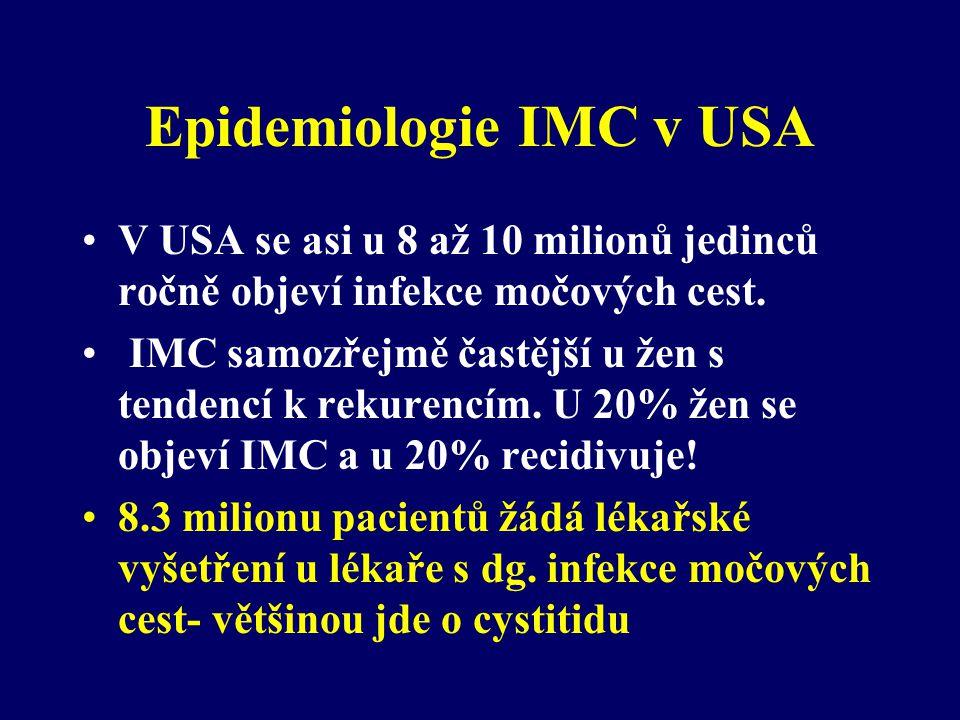 Epidemiologie IMC v USA