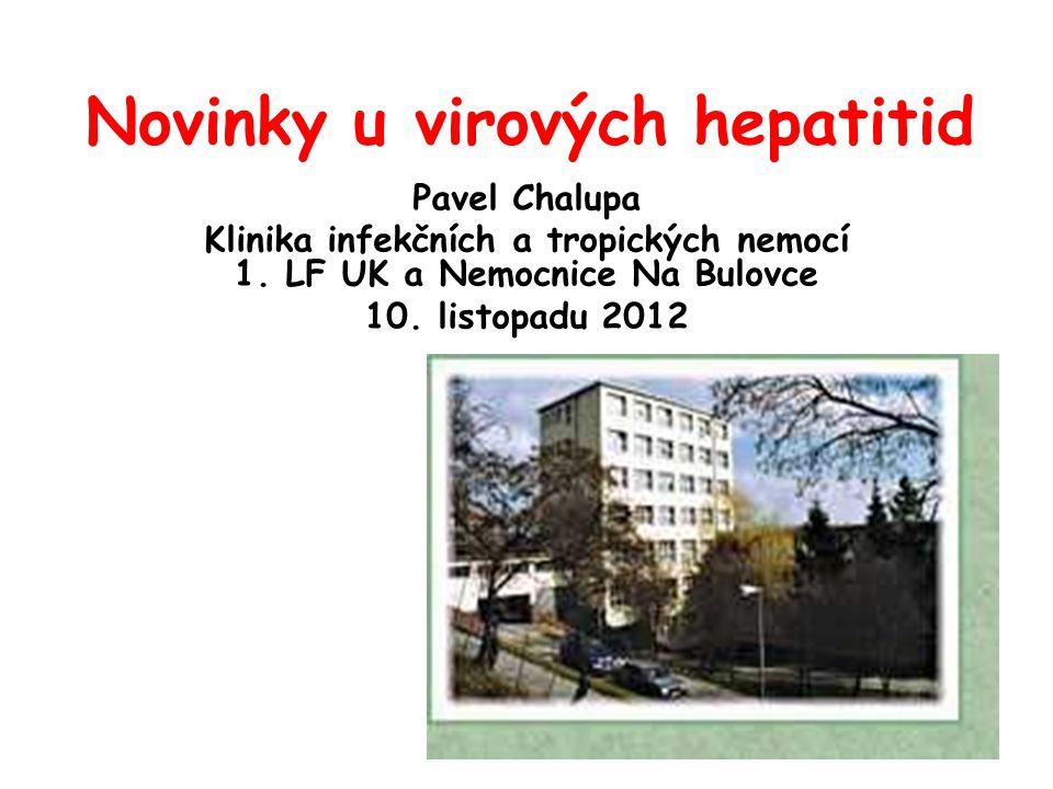 Novinky u virových hepatitid