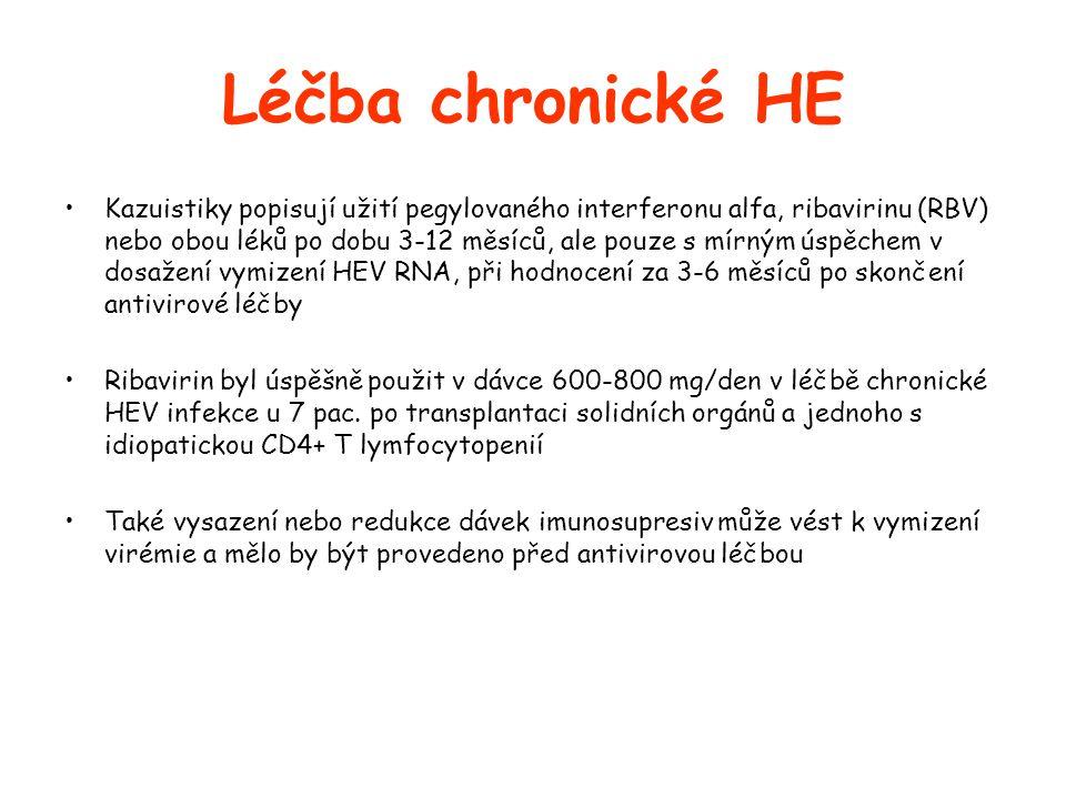 Léčba chronické HE