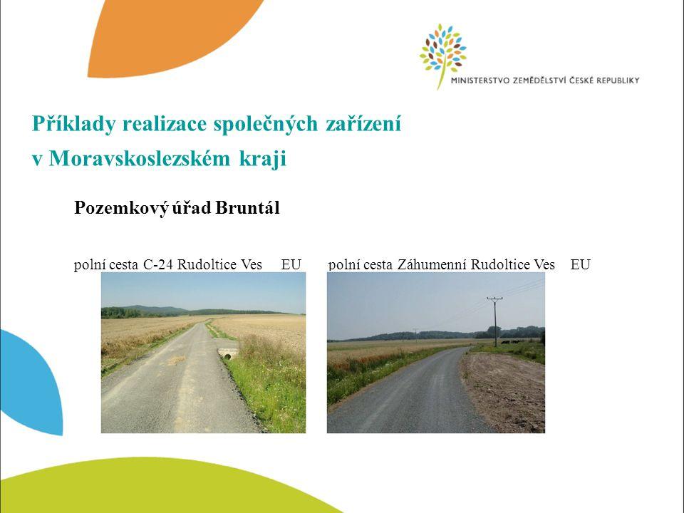 Příklady realizace společných zařízení v Moravskoslezském kraji