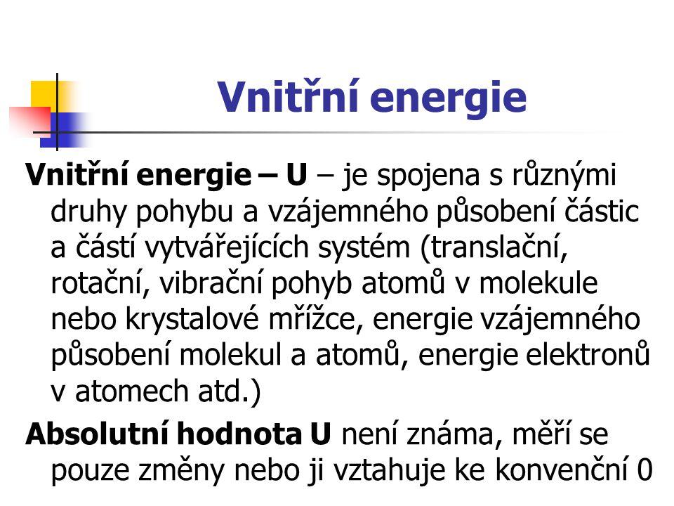 Vnitřní energie
