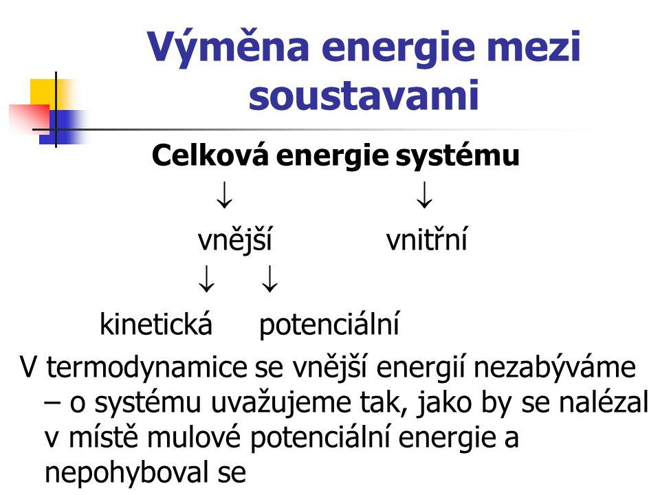 Výměna energie mezi soustavami