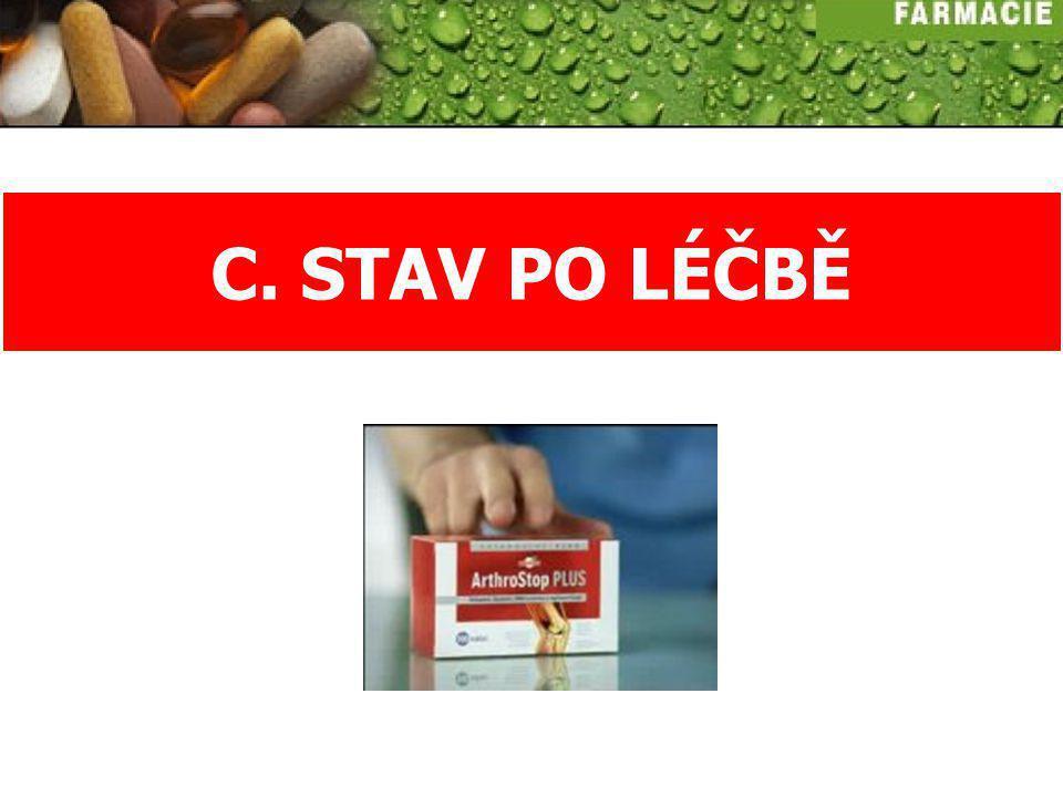 C. STAV PO LÉČBĚ
