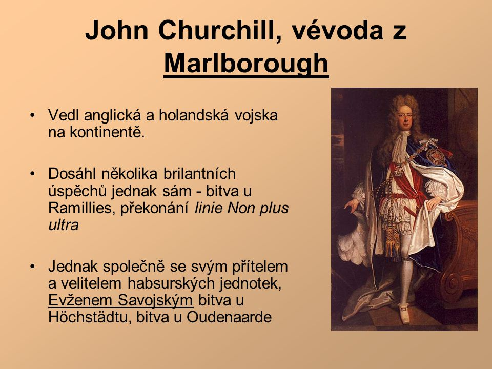 John Churchill, vévoda z Marlborough