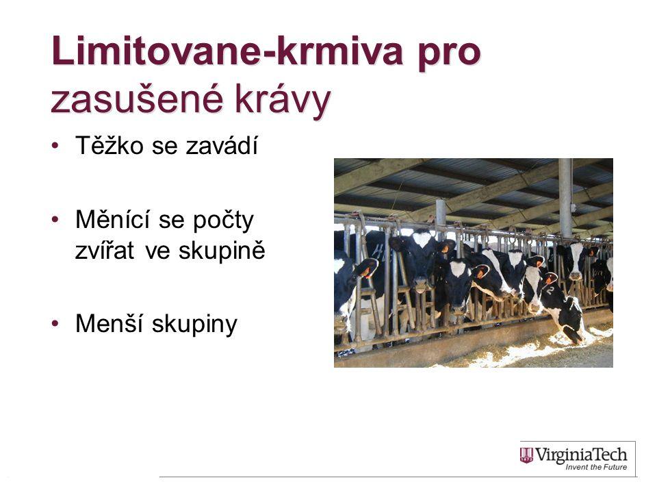 Limitovane-krmiva pro zasušené krávy