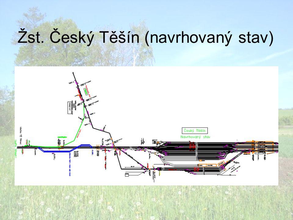 Žst. Český Těšín (navrhovaný stav)