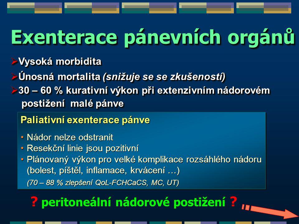 Exenterace pánevních orgánů