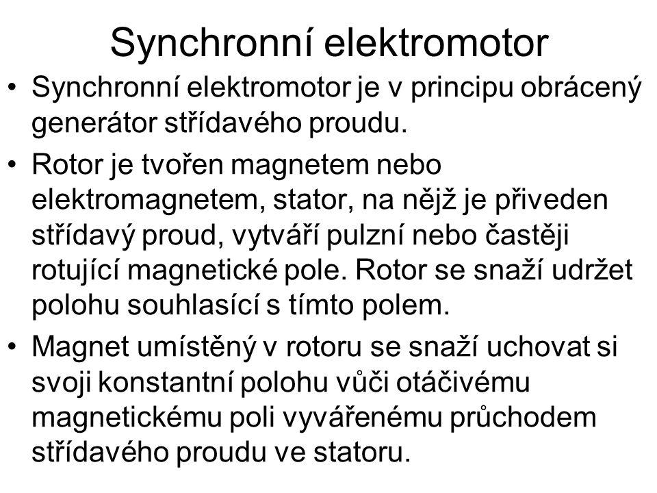 Synchronní elektromotor