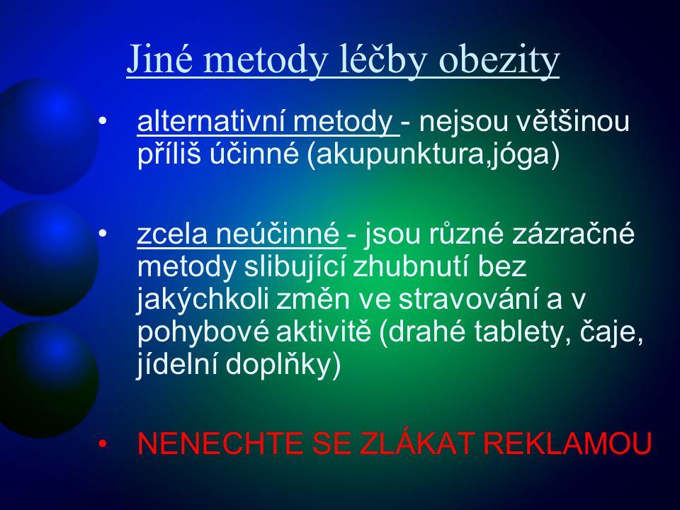 Jiné metody léčby obezity