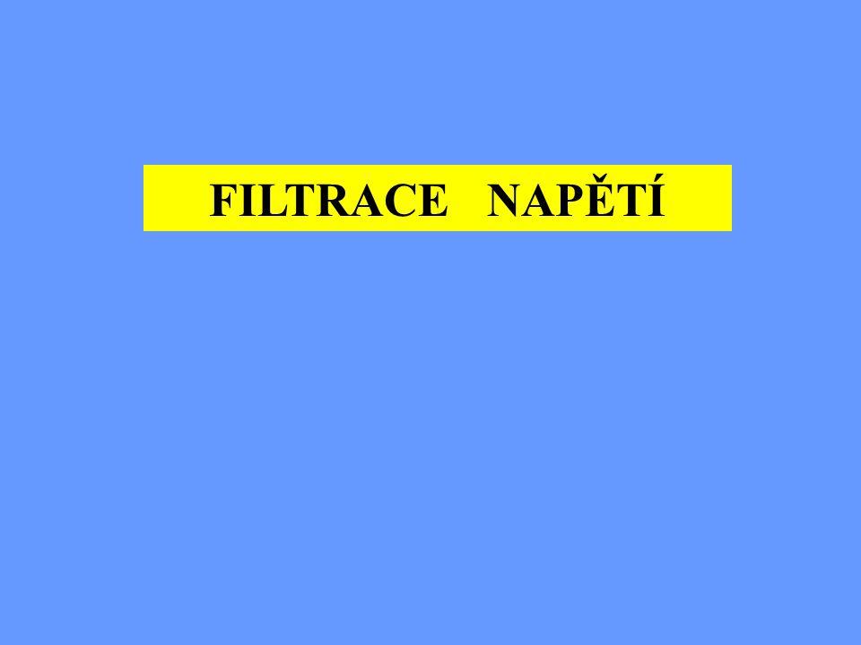 FILTRACE NAPĚTÍ