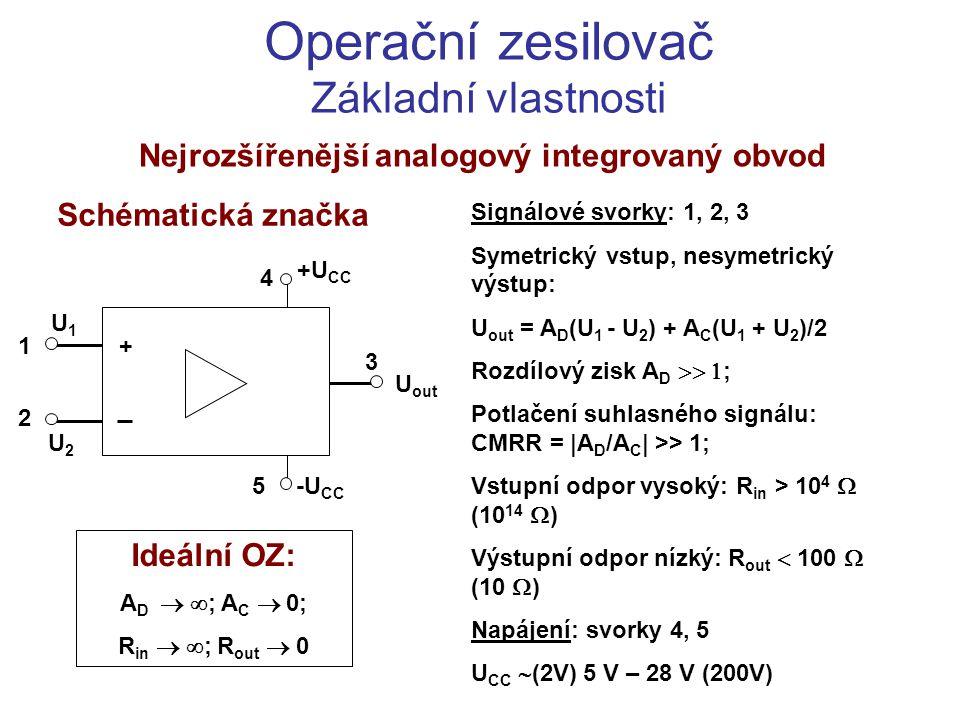 Nejrozšířenější analogový integrovaný obvod