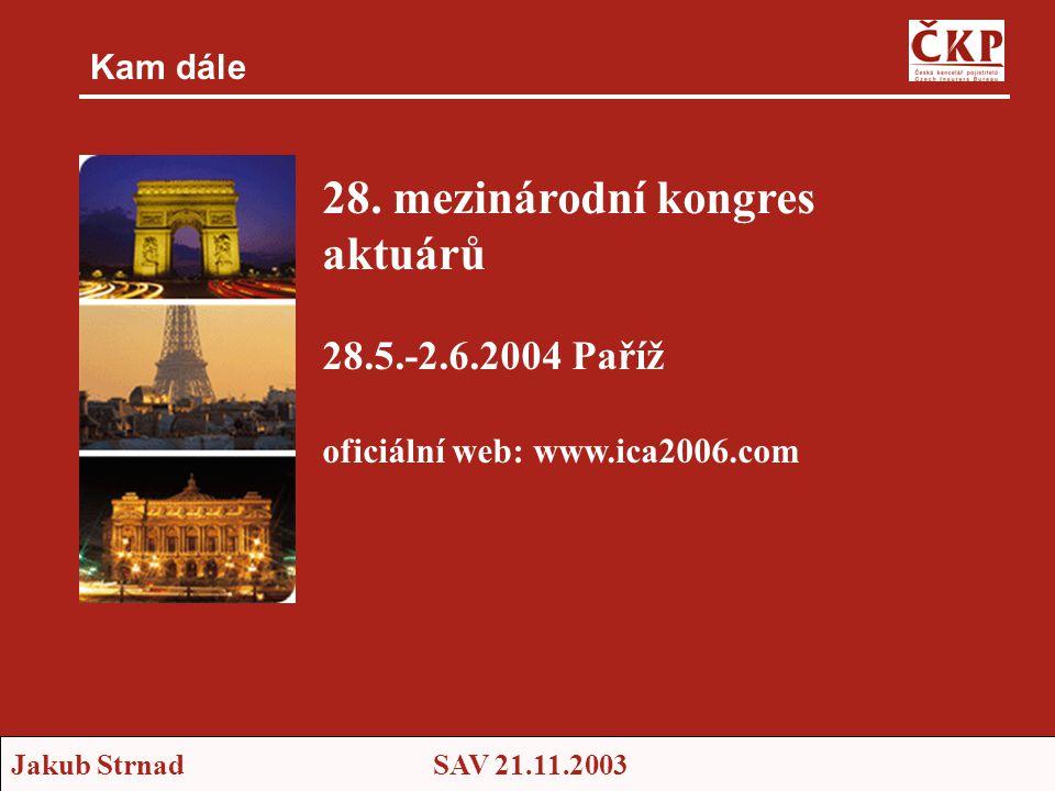 28. mezinárodní kongres aktuárů