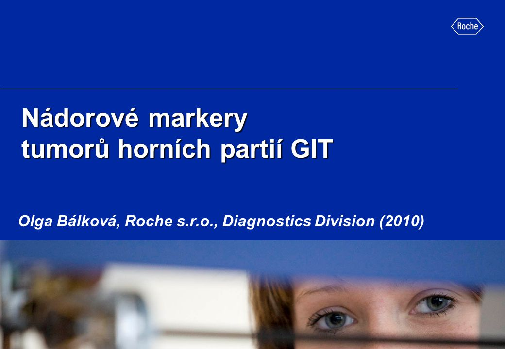 Nádorové markery tumorů horních partií GIT