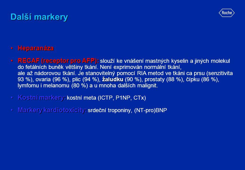 Další markery Heparanáza
