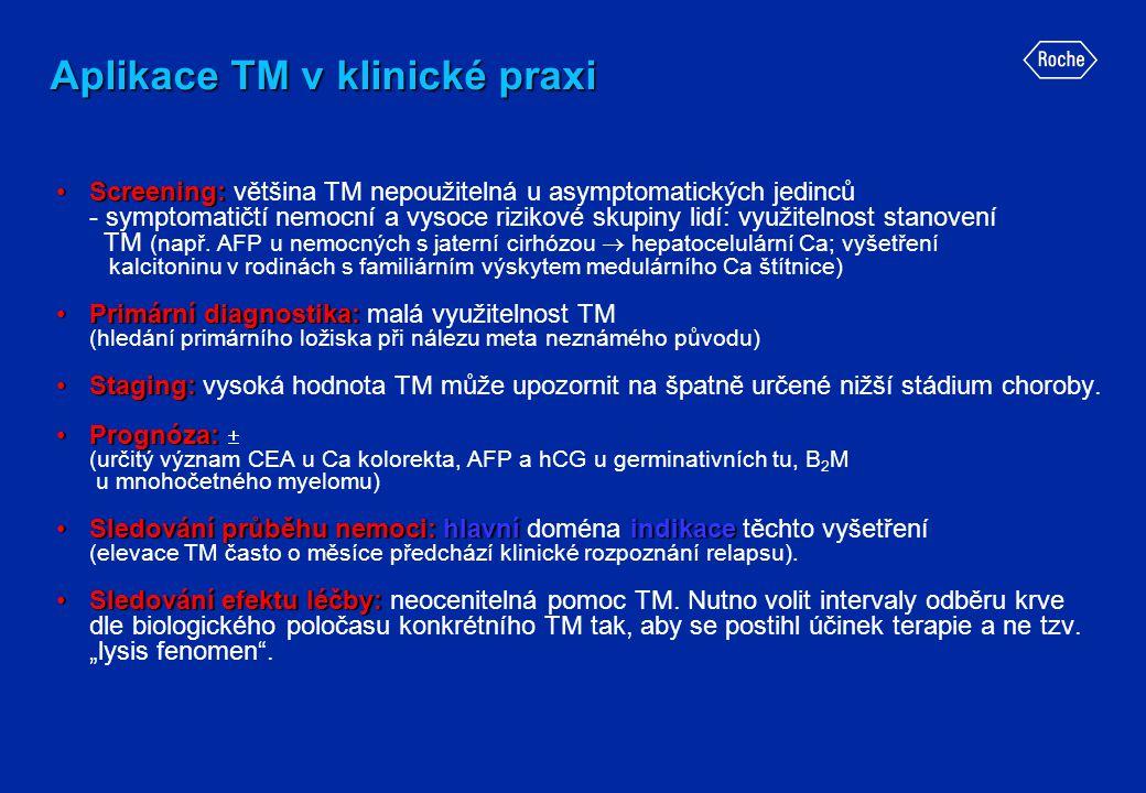 Aplikace TM v klinické praxi