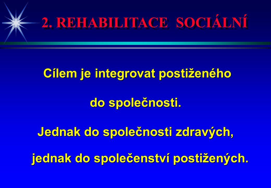 2. REHABILITACE SOCIÁLNÍ