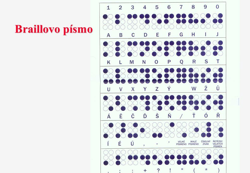 Braillovo písmo 4