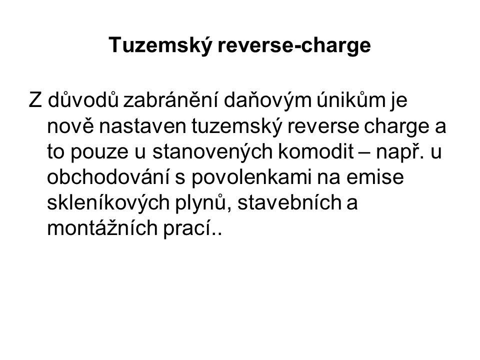 Tuzemský reverse-charge