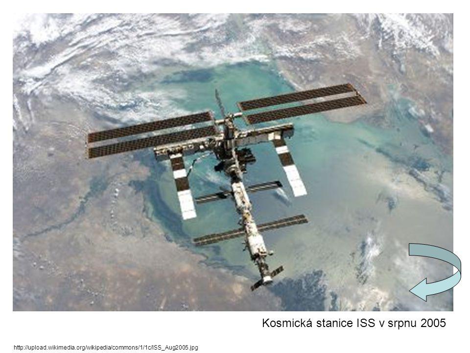 Kosmická stanice ISS v srpnu 2005