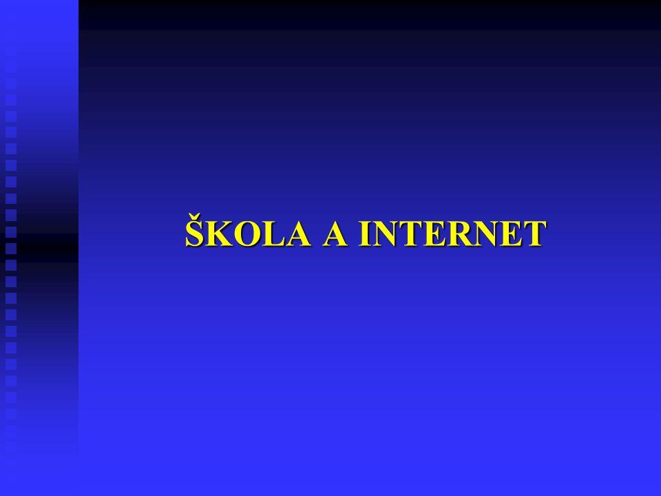 ŠKOLA A INTERNET 21