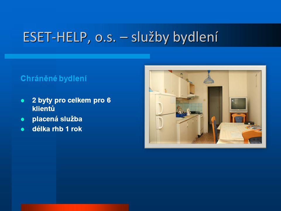 ESET-HELP, o.s. – služby bydlení