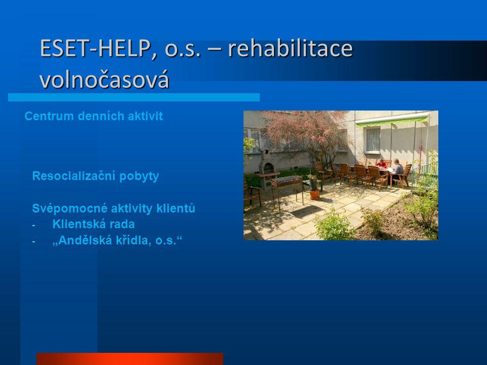 ESET-HELP, o.s. – rehabilitace volnočasová