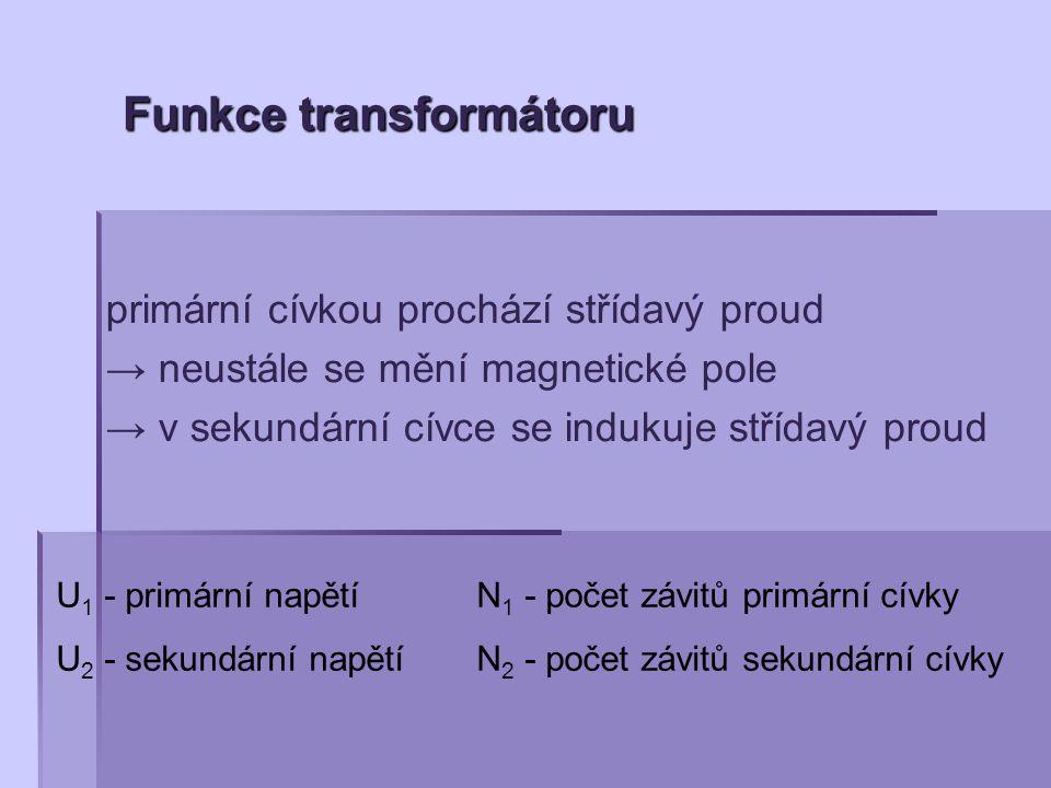 Funkce transformátoru