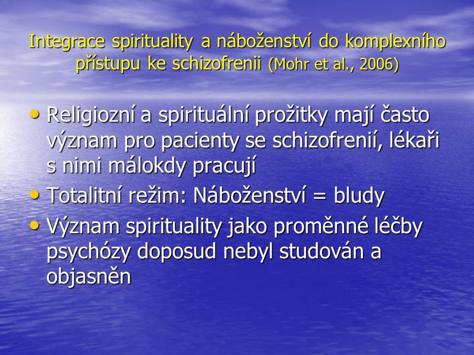 Totalitní režim: Náboženství = bludy