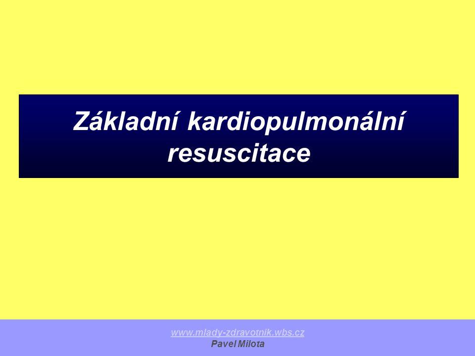 Základní kardiopulmonální resuscitace