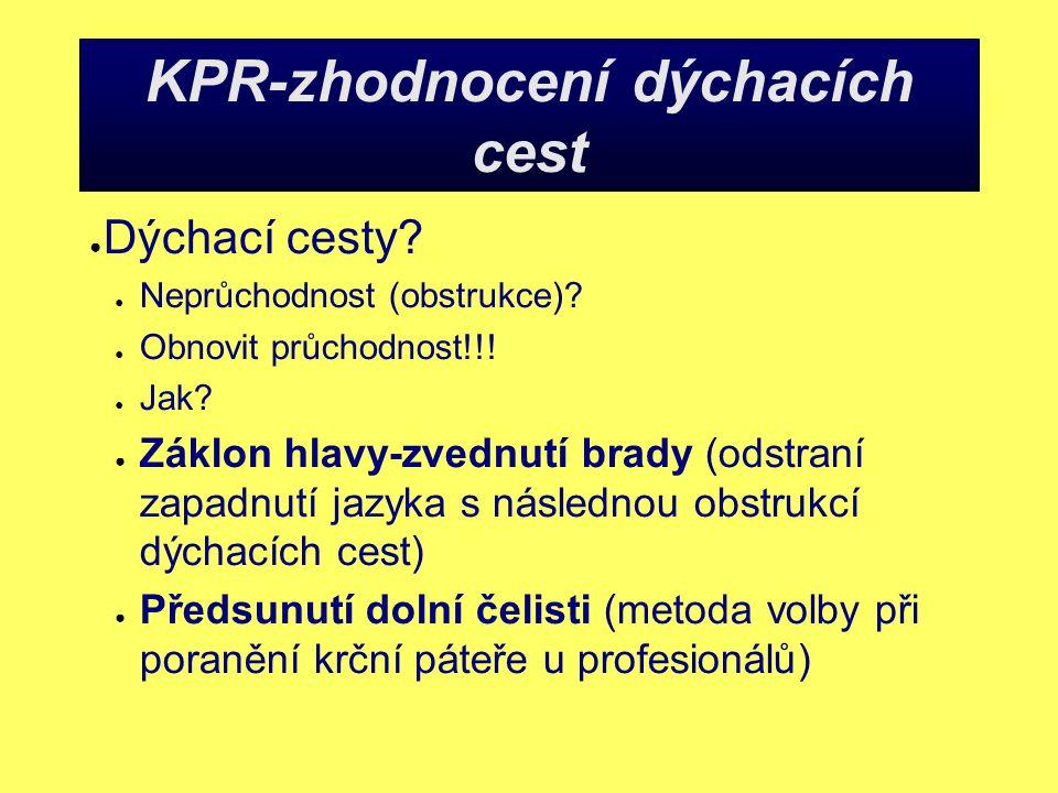 KPR-zhodnocení dýchacích cest