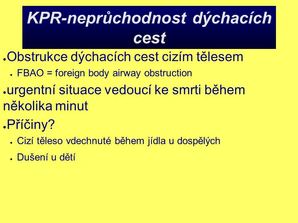 KPR-neprůchodnost dýchacích cest
