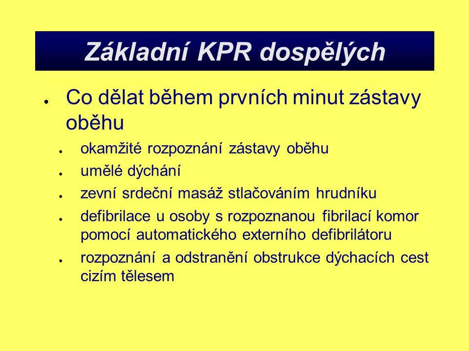 Základní KPR dospělých