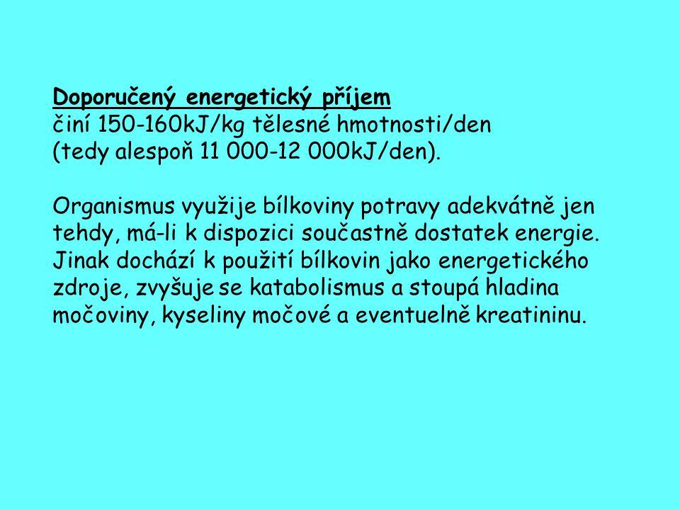 Doporučený energetický příjem