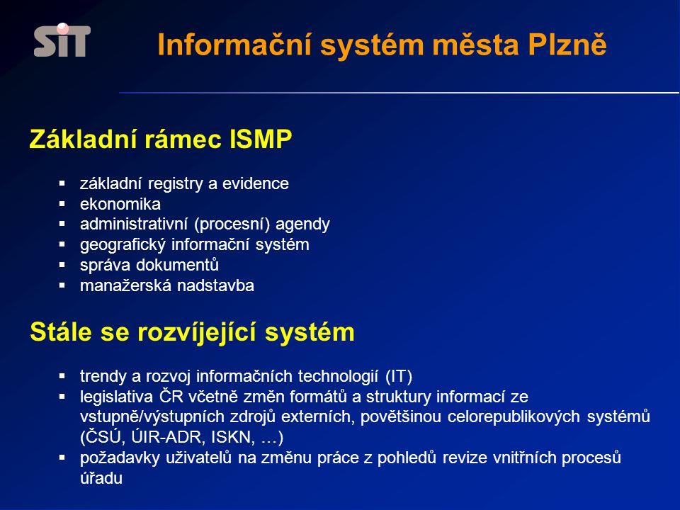 Informační systém města Plzně