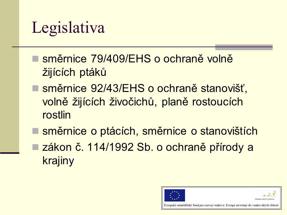 Legislativa směrnice 79/409/EHS o ochraně volně žijících ptáků