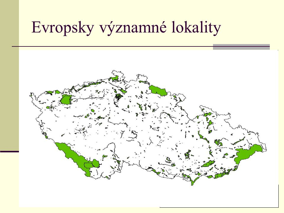 Evropsky významné lokality