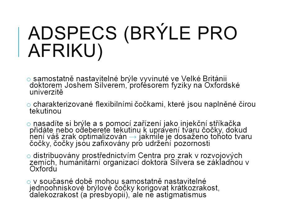 Adspecs (brýle pro Afriku)