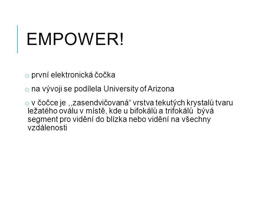 EmPower! první elektronická čočka