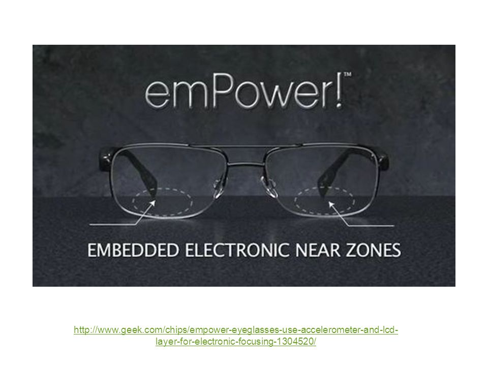 http://www.geek.com/chips/empower-eyeglasses-use-accelerometer-and-lcd-layer-for-electronic-focusing-1304520/