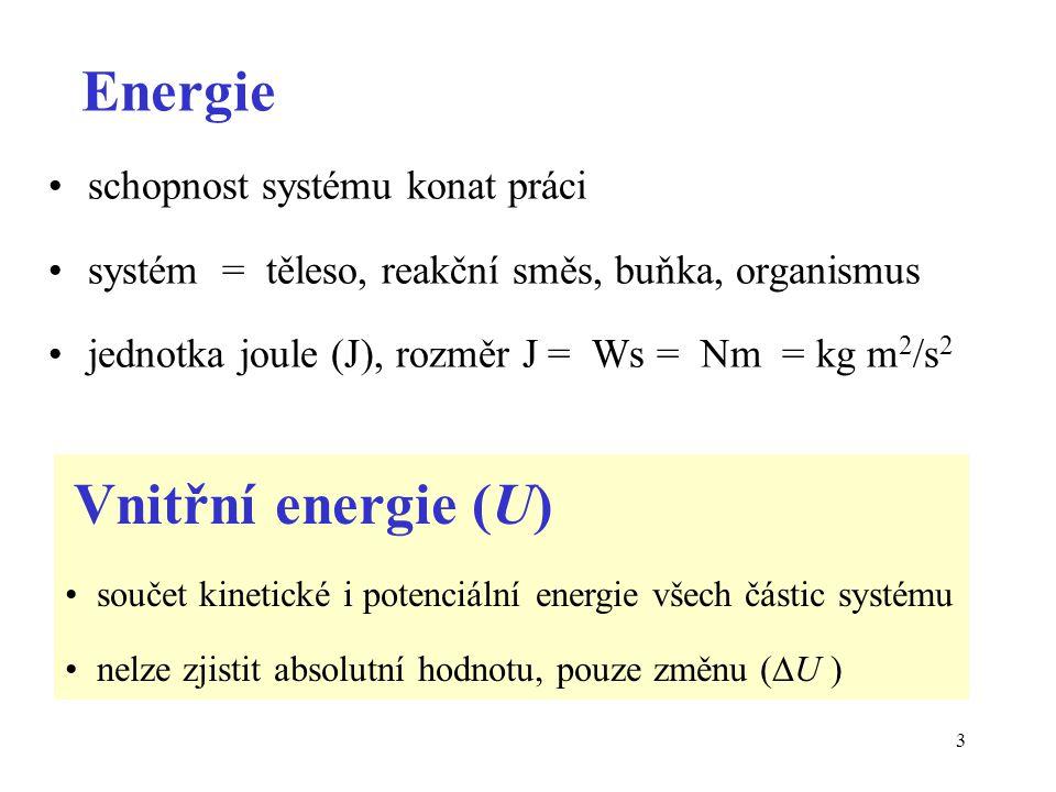 Energie schopnost systému konat práci