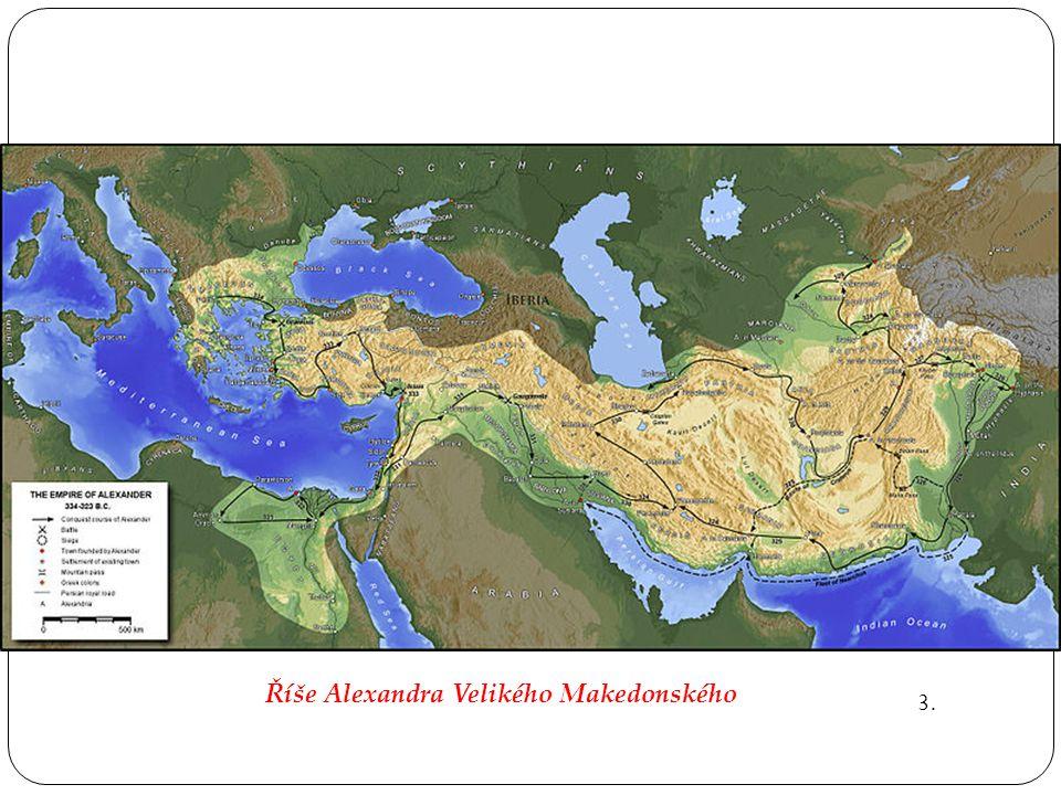 Říše Alexandra Velikého Makedonského