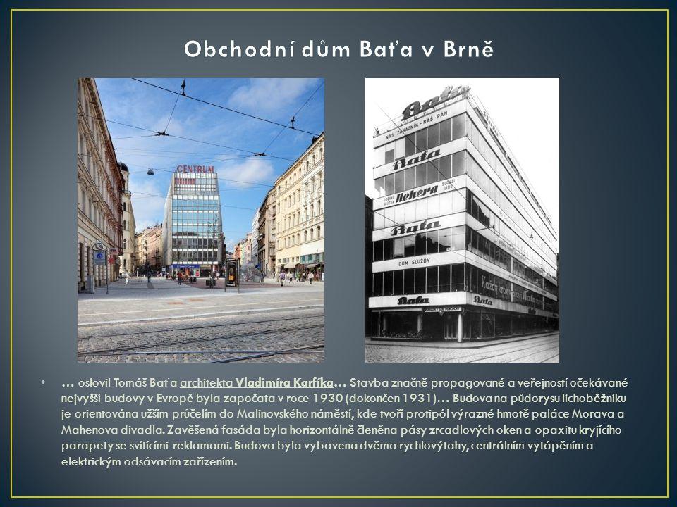 Obchodní dům Baťa v Brně