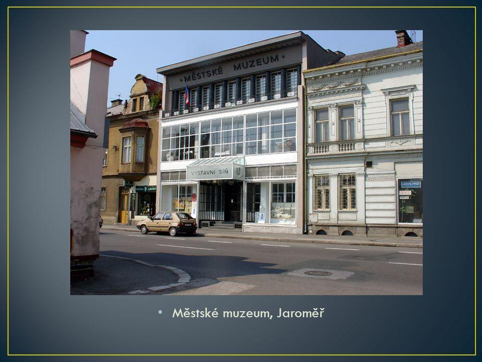Městské muzeum, Jaroměř