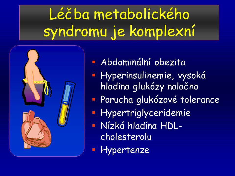 Léčba metabolického syndromu je komplexní
