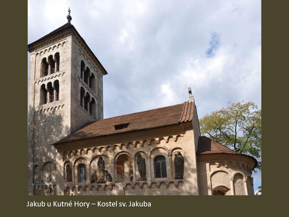 Jakub u Kutné Hory – Kostel sv. Jakuba
