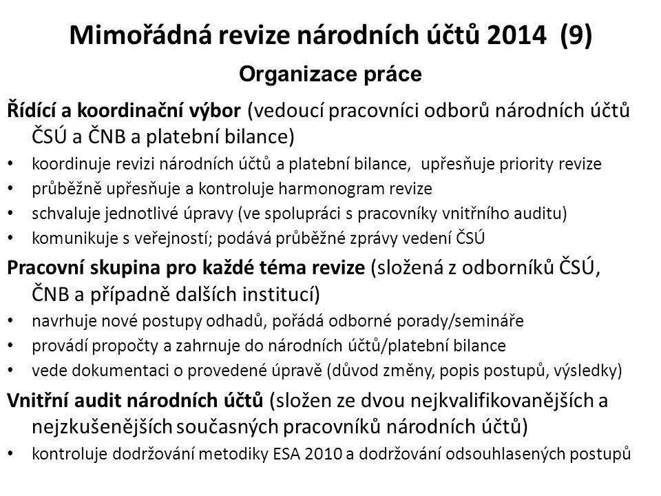 Mimořádná revize národních účtů 2014 (9)