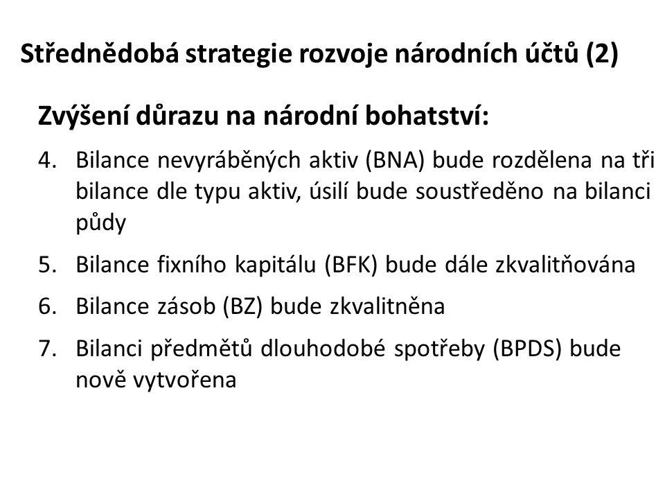 Střednědobá strategie rozvoje národních účtů (2)