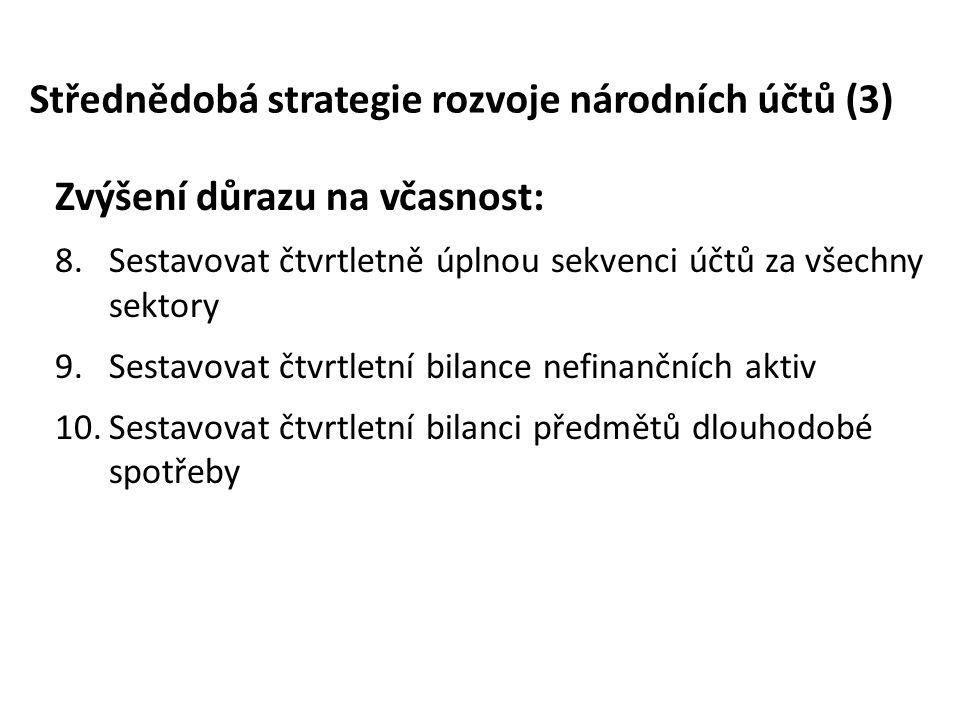 Střednědobá strategie rozvoje národních účtů (3)